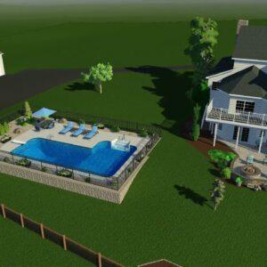 Valley Pools design for R Miller