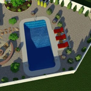 Valley Pools design for the Attivo project