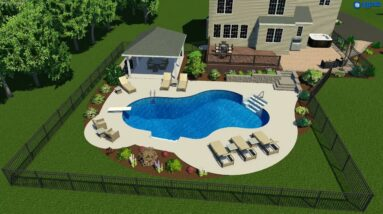 Valley Pools design for the Bowers project.
