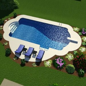 Valley Pools design for the Kolva Project