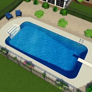 Valley Pools design for the Ryland project.