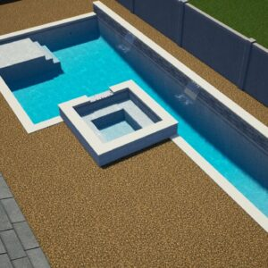 Werner Residence, Pool and Coping only.