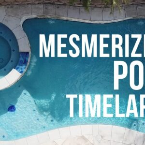 Amazing Pool Construction Time-lapse In Southern California, Swimming Pool Builder In California