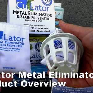 CuLator Metal Eliminator & Stain Preventer for Your Pool & Spa Overview Video