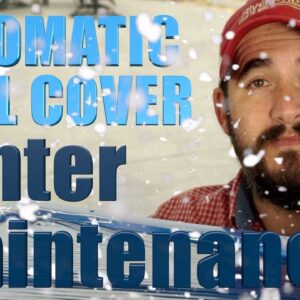 Automatic Pool Cover Winter Maintenance