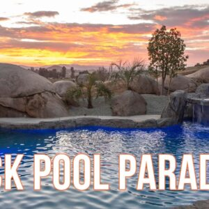 Secret Waterfall Grotto + Water Slide + Swim-Up Bar...What else could you want?