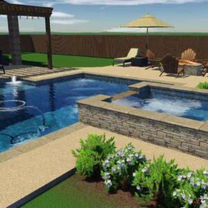 Custom Pool & Spa Design | Conroe, TX 77384
