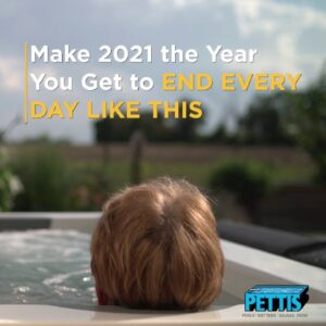 Imagine Ending Every Day Relaxing in Your Own Spa, Pettis Pools & Patio