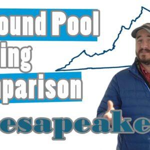 Inground Pool Pricing Comparison-Chesapeake