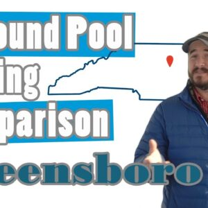 Inground Pool Pricing Comparison-Greensboro
