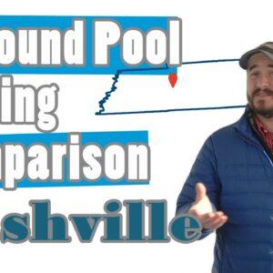 Inground Pool Pricing Comparison-Nashville
