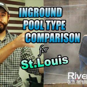 Inground Pool Type Comparisons - St. Louis