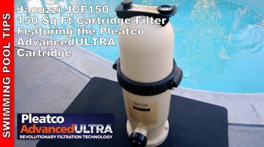 Jacuzzi JCF150 Cartridge Filter Featuring the  Pleatco Advanced ULTRA Cartridge!