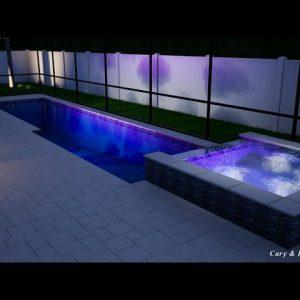 Solomon Swimming Pool/Spa/Screen Enclosure - Patio Pools