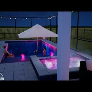 Upton Swimming Pool/Spa/Screen Enclosure - Patio Pools