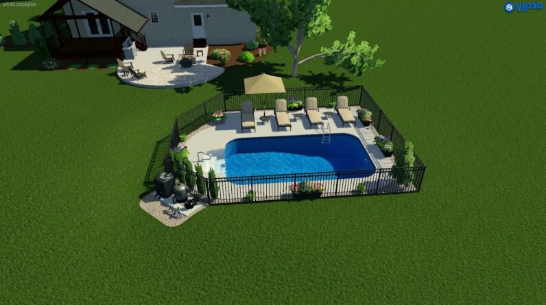 Valley Pools design for the Bainbridge project.