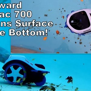 Hayward Trivac 700 Pressure Side Cleaner Cleans the Pool Surface and Bottom!