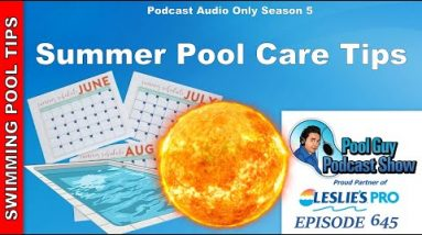 Summer Pool Care Tips