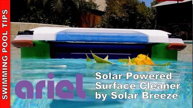 Ariel by Solar-Breeze a Solar Powered Surface Skimmer with Proven Technology!