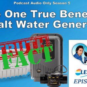 The One True Benefit of a Salt Water Generator