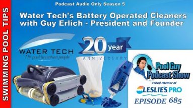 Water Tech Battery Operated Cleaner Line-up with Guy Erlich, President and Founder
