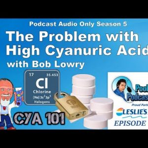 The Problem with High Cyanuric Acid (CYA) with Chemistry Expert Bob Lowry