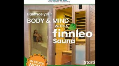 Pettis Pools, Relax Your Way to Better Health with a Finnleo Sauna