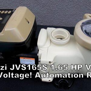 Jacuzzi JVS165S 1.65 HP VS Pump Overview - Dual Voltage, Automation Ready & a Great Starter VS Pump!