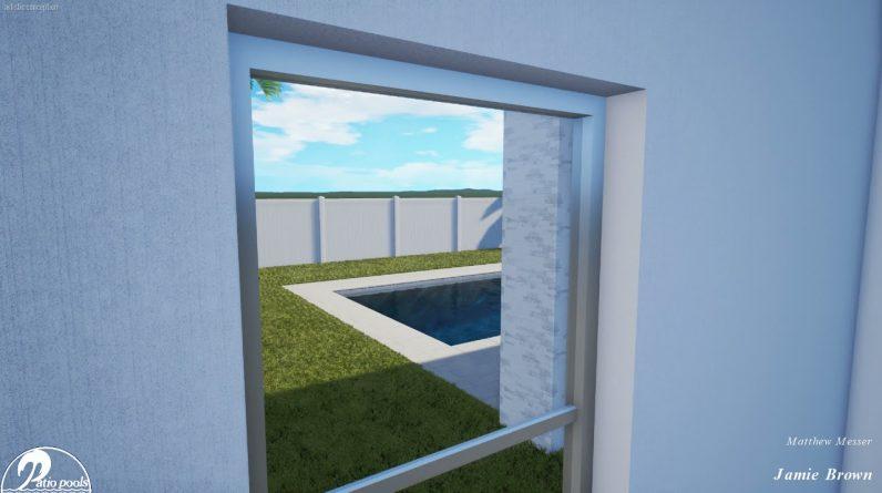 Brown Swimming Pool & Spa - Patio Pools