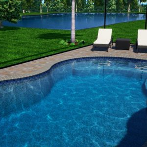 Hall Swimming Pool (Official Design) - Patio Pools