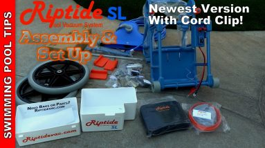 Riptide SL Cart Assembly & Battery Set Up Step by Step Video- Updated Version with Cord Clip!