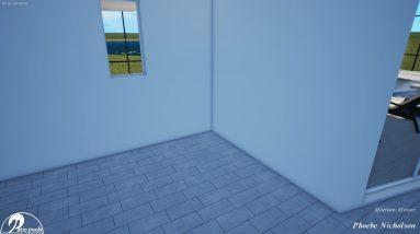 Nicholson Swimming Pool & Spa with Screen Enclosure - Patio Pools